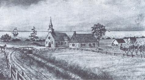 Canada – Un voyage de Québec vers la Gaspésie a travers les paroisses au 19 eme siècle EgliseThomasMontmagny