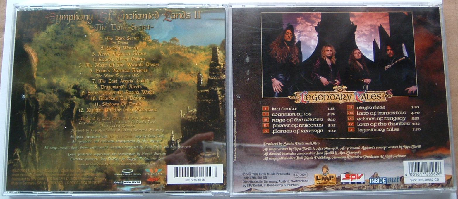 Contrafacção de álbum em CD Rhapsody_03