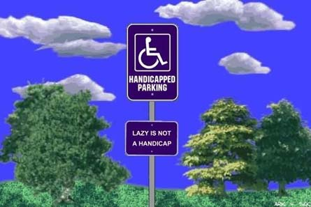 """The """"lol"""" Photo Thread - Page 2 Handicappedparking"""
