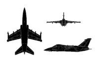 تعرف على مقاتلات اوروبية  Amx_3view