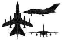 تعرف على مقاتلات اوروبية  Tornado_3view