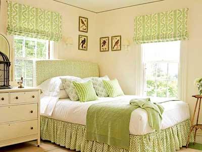 MI  DECORACIÓN  IDEAL EN  VERDE Dormitorio-cuarto-habitacion-pintado-de-crema-y-verde1