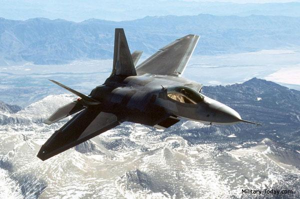 Para quem gosta de aviões F22_raptor