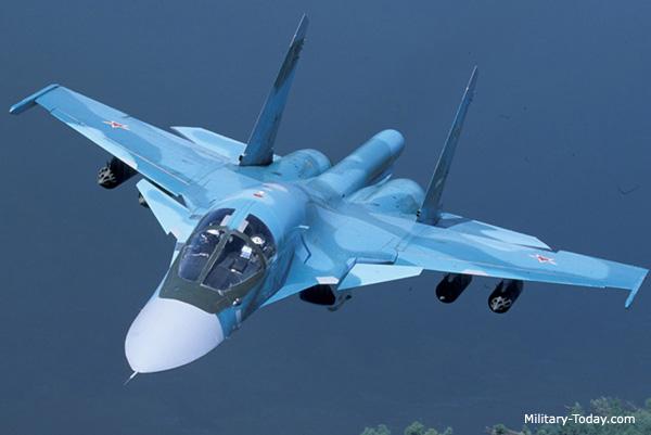 مقاتلة الهجوم الارضي الرائعة سوخوي سو34 فولباك-Sukhoi Su-34 Fullback ! Su34_fullback