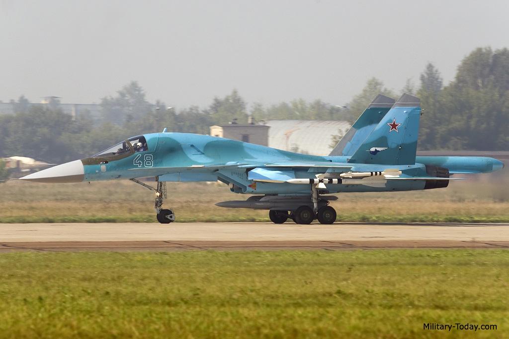 مقاتلة الهجوم الارضي الرائعة سوخوي سو34 فولباك-Sukhoi Su-34 Fullback ! Su34_fullback_l1