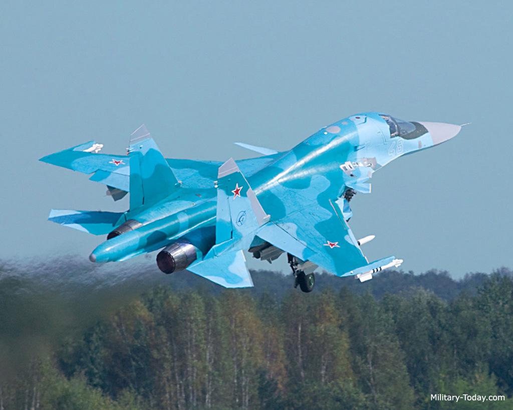 مقاتلة الهجوم الارضي الرائعة سوخوي سو34 فولباك-Sukhoi Su-34 Fullback ! Su34_fullback_l2