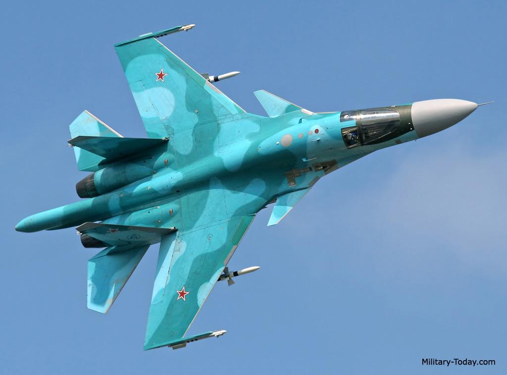 مقاتلة الهجوم الارضي الرائعة سوخوي سو34 فولباك-Sukhoi Su-34 Fullback ! Su34_fullback_l4