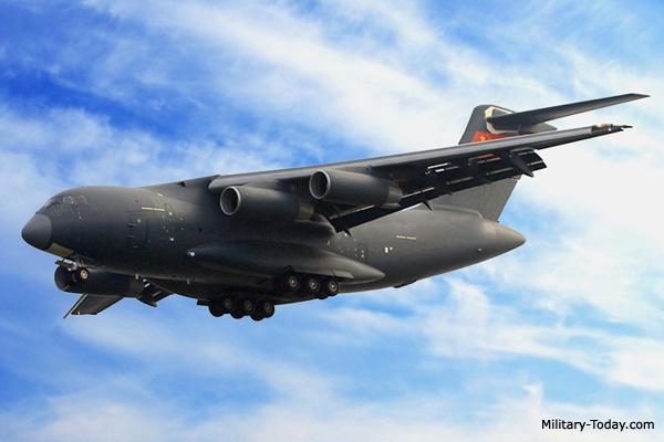 طائره النقل الثقيل الصينيه الجديده Xian Y-20  Y20