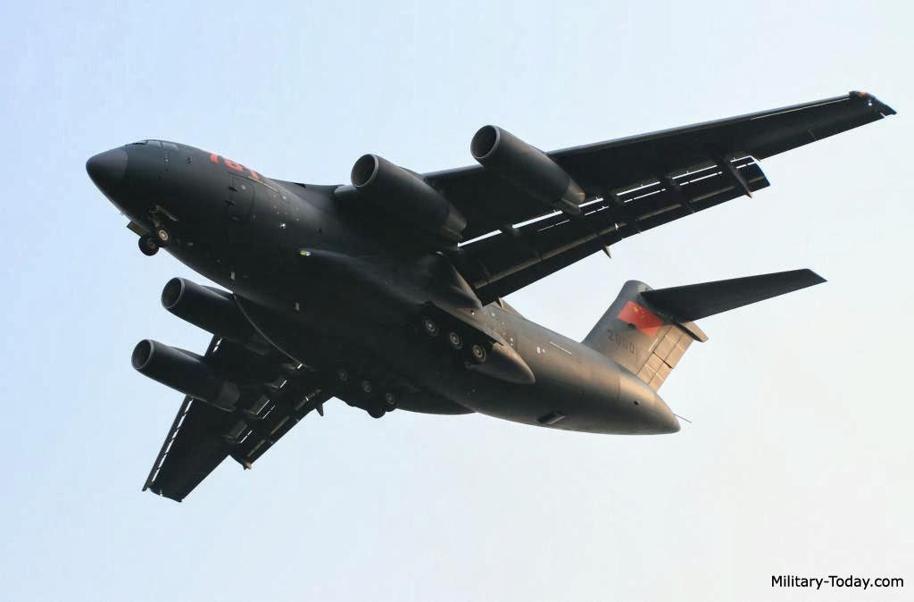 طائره النقل الثقيل الصينيه الجديده Xian Y-20  Y20_l3