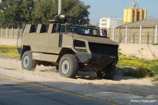 أخر انظمة التسليح الاسرائيلية : المدرعة غولان مرامب Golan_mrap
