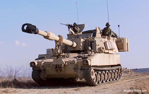 كيف تحب أن يتطور جيش بلادك  M109a6_paladin