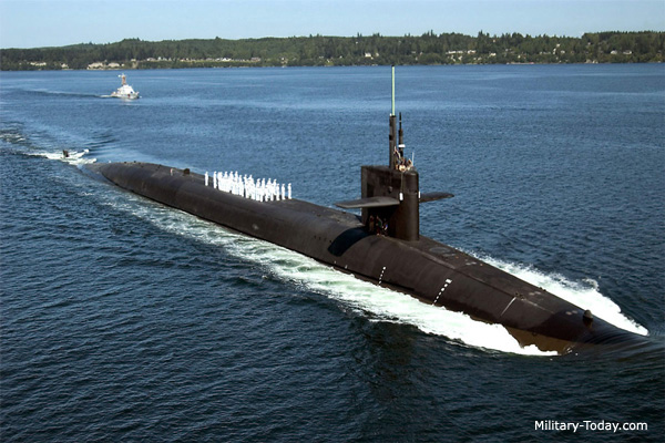 الحرب البحريّة والمواجهة العالميّة القادمة  Ohio_class