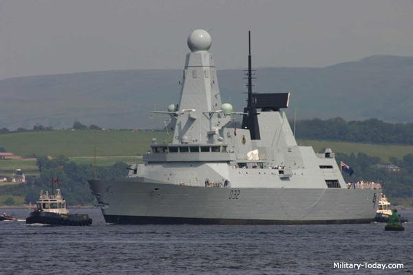 المدمرة البريطانية الاحدث في العالم Type 45 (الجيل الجديد من المدمرات) Type_45_daring_class