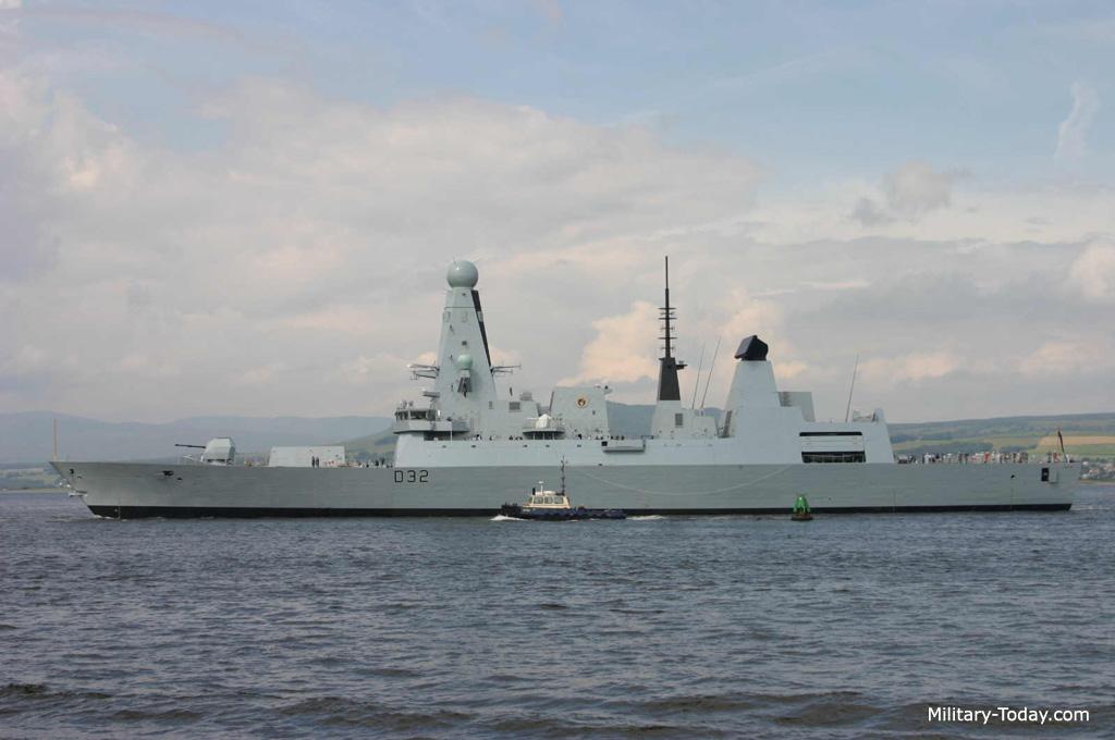 المدمرة البريطانية الاحدث في العالم Type 45 (الجيل الجديد من المدمرات) Type_45_daring_class_l3