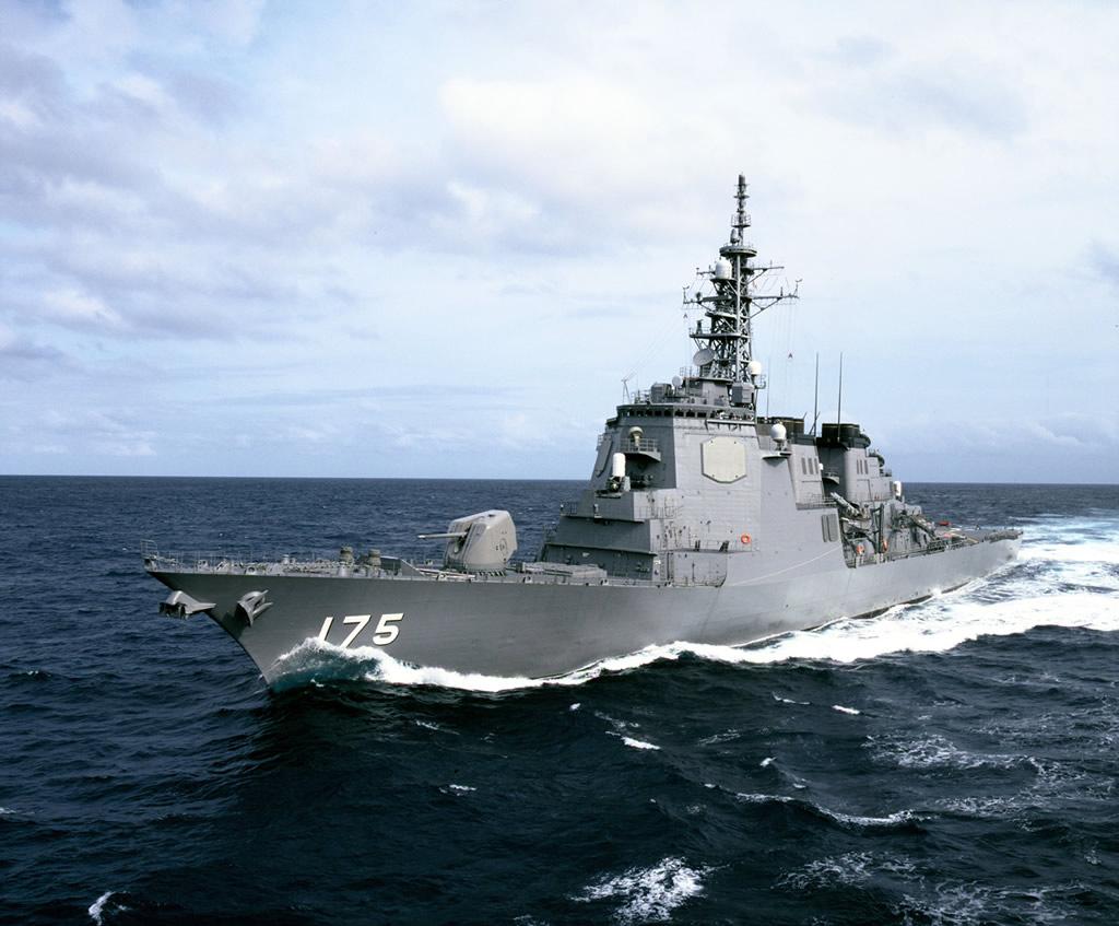Fuerzas de Autodefensa de Japón adquirirá aviones cisterna y destructor de misiles.  SHIP_DDG-175_JS_Myoko_Kongo_Class_lg