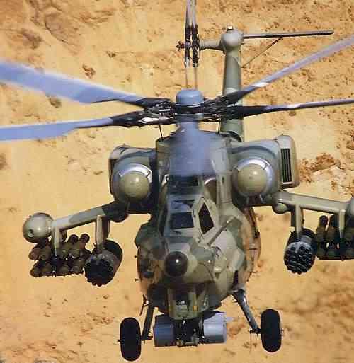 Hélicoptères de combats Mi28%2045