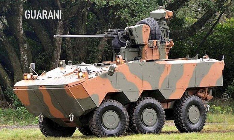 4º Mostra BID Brasil Tanks6x6-Guarani
