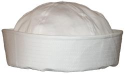 القبعات العسكريه (البيريه) وتميز الوانها فى الجيش المصرى Us_navy_white_hat