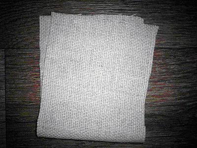 Поделка из атласных ленточек «Аромо-саше с вышивкой» 5551