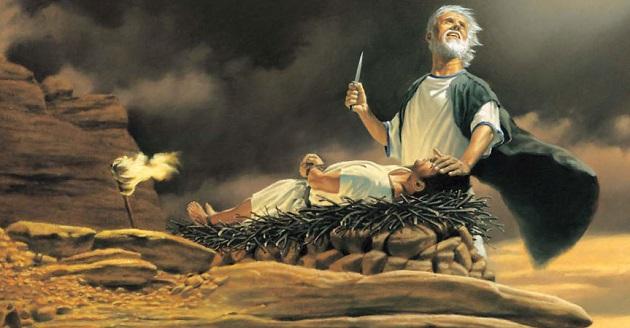 Traces de Jésus dans l'Ancien Testament Abraham-Sacrifices-Isaac_fs