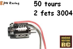 MR02 et moteur PN 50T (113250) 123250