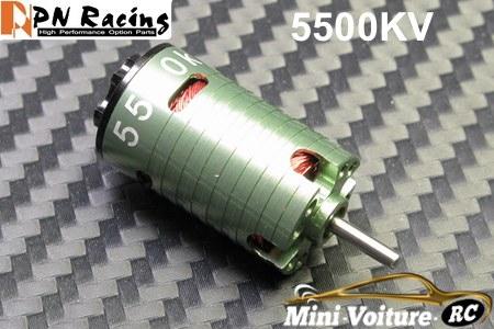 Comparaison moteur Brushless / PN 5500 - Kyosho X-speed 140055-pnracing