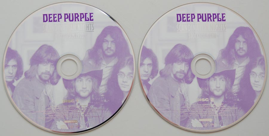 Deep Purple - Scandinavian Nights (1988) / Live in Stockholm (2005) SCANDCD