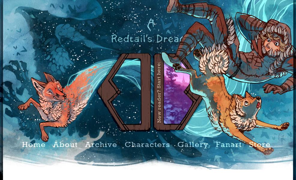 [WEBCOMICS] A Redtail's Dream en Stand Still, Stay Silent C_banneri