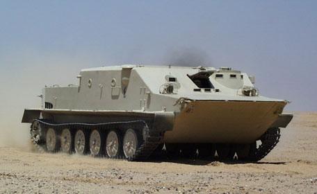 أوكرانيا تقوم بتحديث مدرعات مصرية  Btr50pkm-01