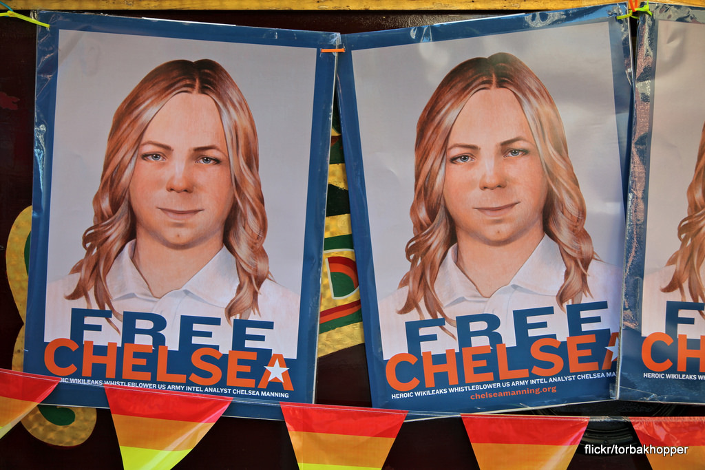 Chelsea Manning Facing Indefinite Solitary Confinement Following Suicide Attempt 14513283026_c6b023d3f2_b