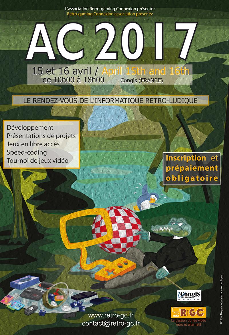 AC 2017 ! l'event Rétro-informatique ludique Ld4V