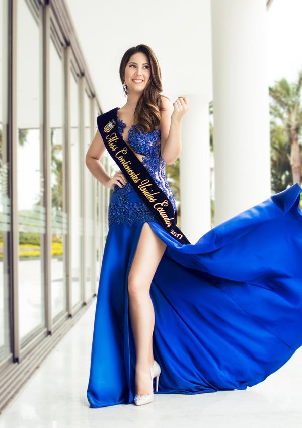 CANDIDATAS A MISS CONTINENTES UNIDOS 2017 * FINAL 23 DE SEPTIEMBRE Miss-Ecuador2