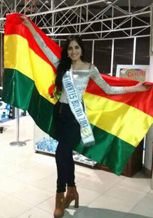 CANDIDATAS A MISS CONTINENTES UNIDOS 2017 * FINAL 23 DE SEPTIEMBRE - Página 5 Nimeyra-Flores_bolivia