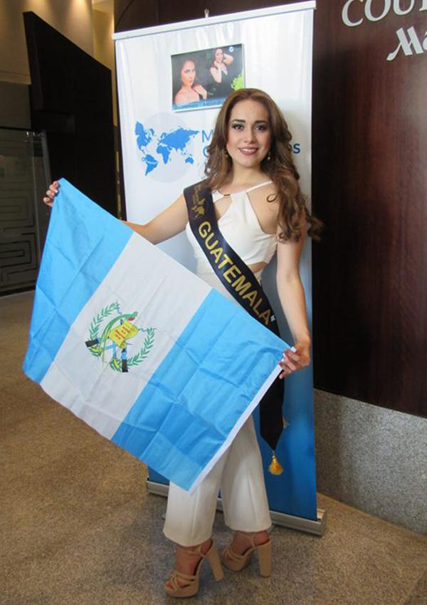 CANDIDATAS A MISS CONTINENTES UNIDOS 2017 * FINAL 23 DE SEPTIEMBRE - Página 4 GUATEMALA