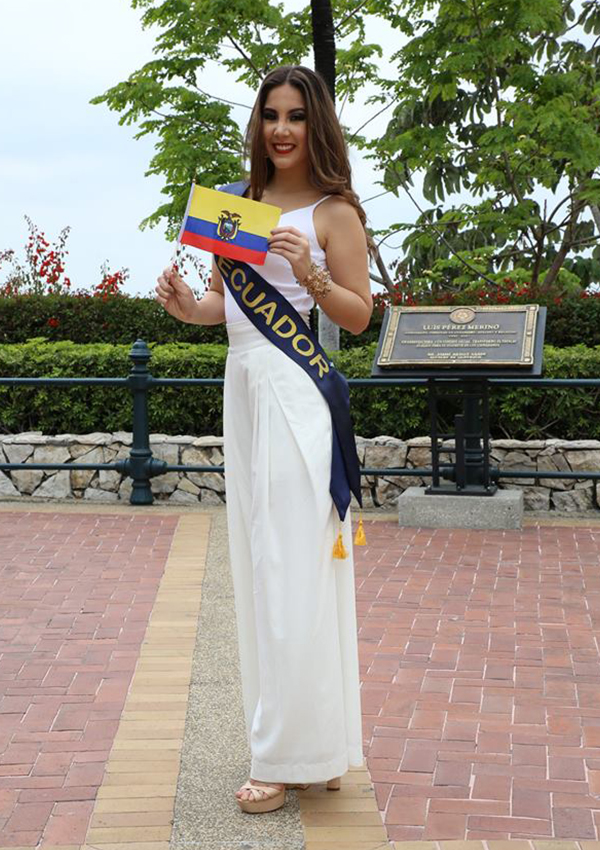 CANDIDATAS A MISS CONTINENTES UNIDOS 2017 * FINAL 23 DE SEPTIEMBRE - Página 6 Ecuador
