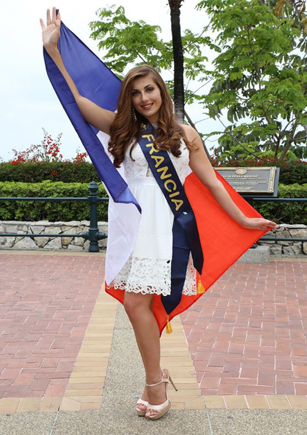 CANDIDATAS A MISS CONTINENTES UNIDOS 2017 * FINAL 23 DE SEPTIEMBRE - Página 6 Francia