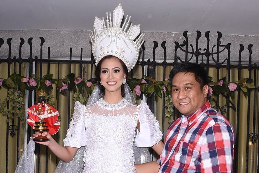 Traje típico de Jeslyn Santos - Miss Continentes Unidos Filipinas 2016 Filipinas-prensa-1
