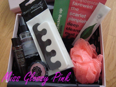 "[Octobre 2012] Glossybox ""Home Spa"" DSC07664"