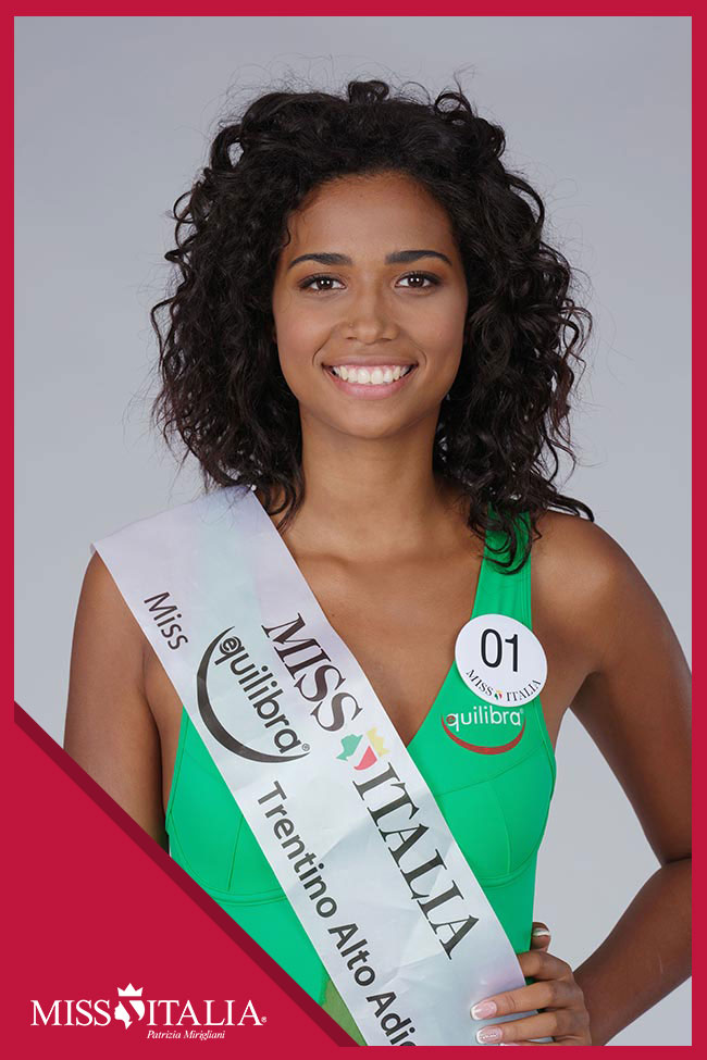 candidatas a miss italia 2018. final: 17 sep. 01