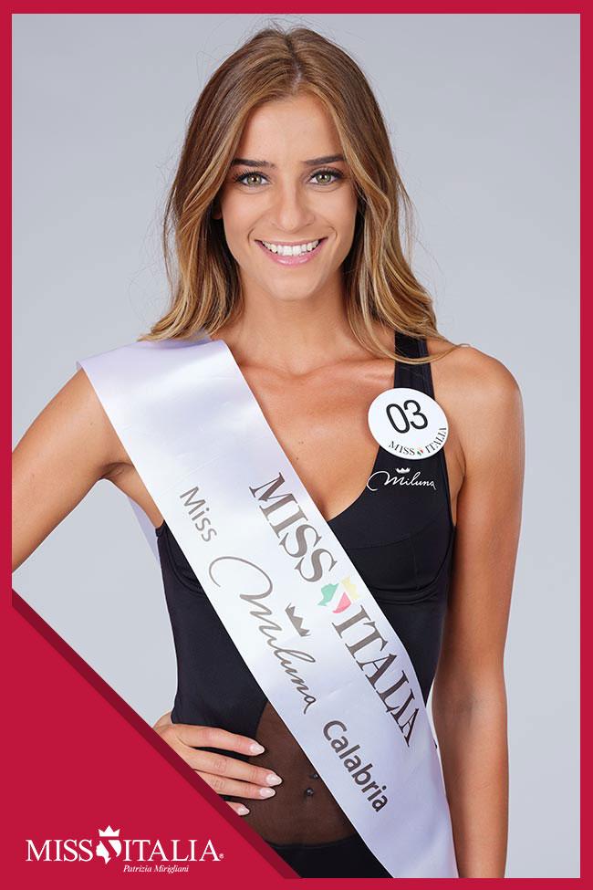 candidatas a miss italia 2018. final: 17 sep. 03