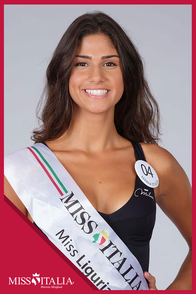 candidatas a miss italia 2018. final: 17 sep. 04