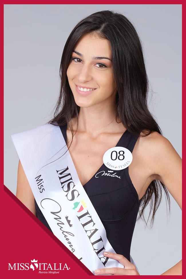 candidatas a miss italia 2018. final: 17 sep. 08
