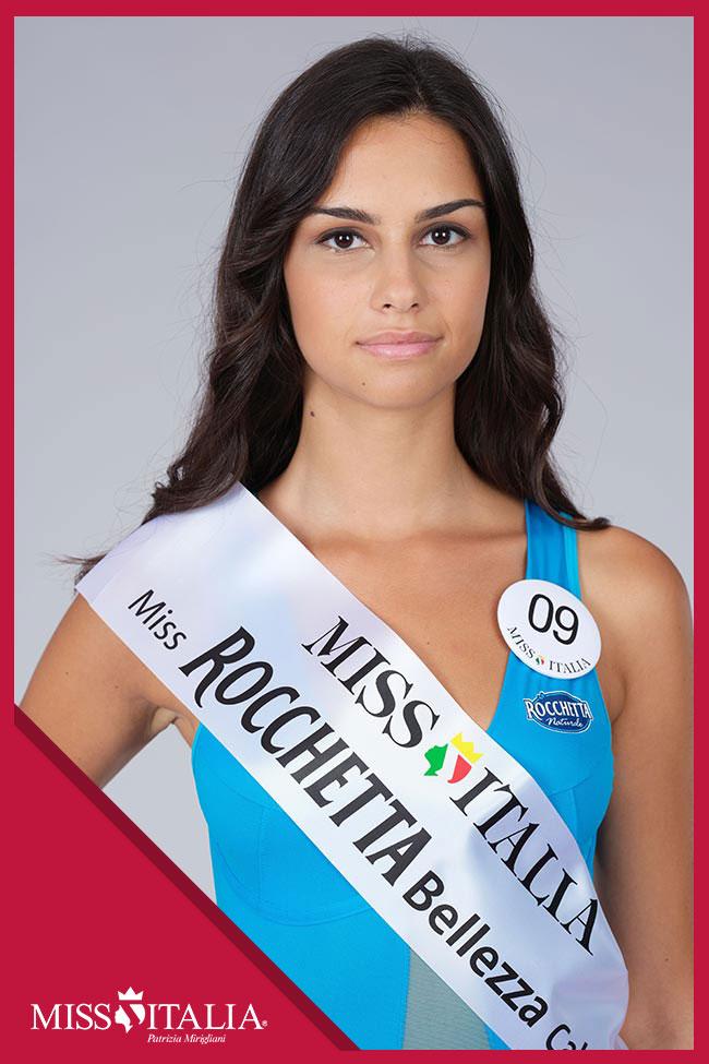 candidatas a miss italia 2018. final: 17 sep. 09