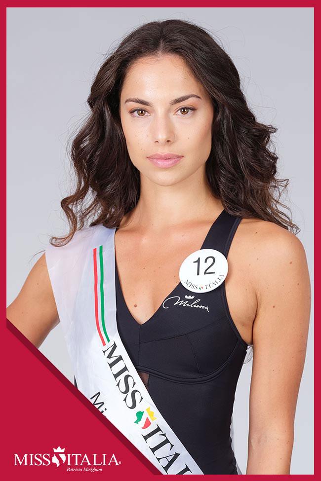 candidatas a miss italia 2018. final: 17 sep. 12
