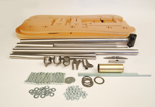 Venta online desde china.Aluminio con racores desmontada. Frame_and_hardware_and_Jig_small