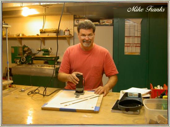 MJ FRANKS GUITARS, interview du luthier Mike Franks Mikbiophoto