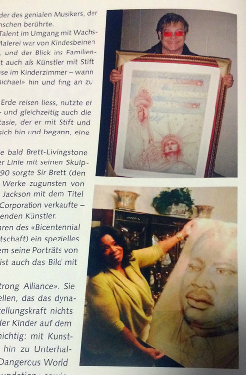 Nuovo libro: Kunstwerke von Michael Jackson 141420fdpp7d7vra3o7rsr