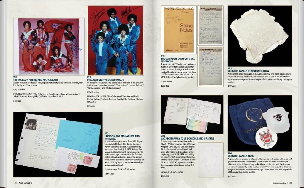 "Nuova asta ""Music Icons"" dalla famosa casa d'aste di Julien's Auctions JAu1-1024x632"