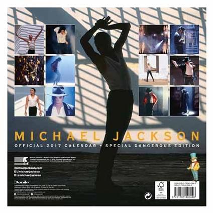 Calendari 2017 Michael20Jackson20Official20201720Calendar20back