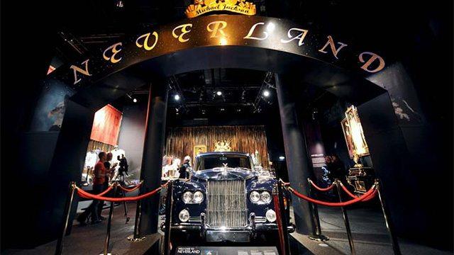 La Rolls Royce di MJ in esposizione in Libano Car